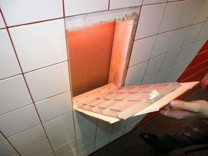 Как сделать сантехнический люк под плитку - Сантехнические люки и лючки в ванную. Купить белый